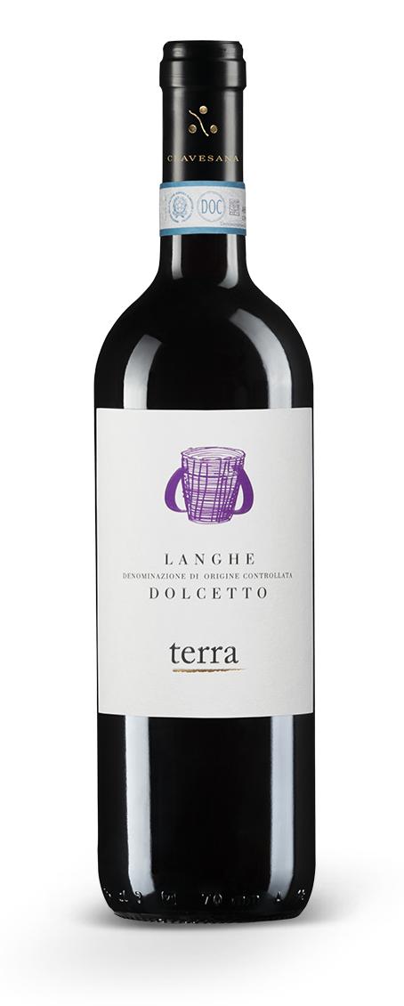 Langhe DOC Dolcetto - Linea Terra - Cantina Clavesana